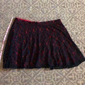 Torrid lace skirt